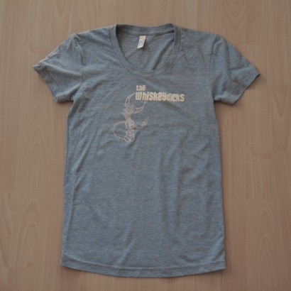 Light Blue Womens T-shirt